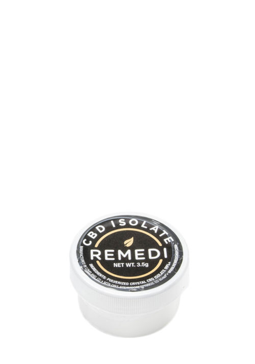 Remedi CBD Isolate 99% Potency 3.5g – 28g