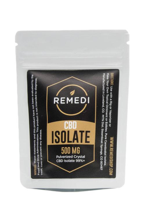 Remedi CBD Isolate 99% Potency – 500mg