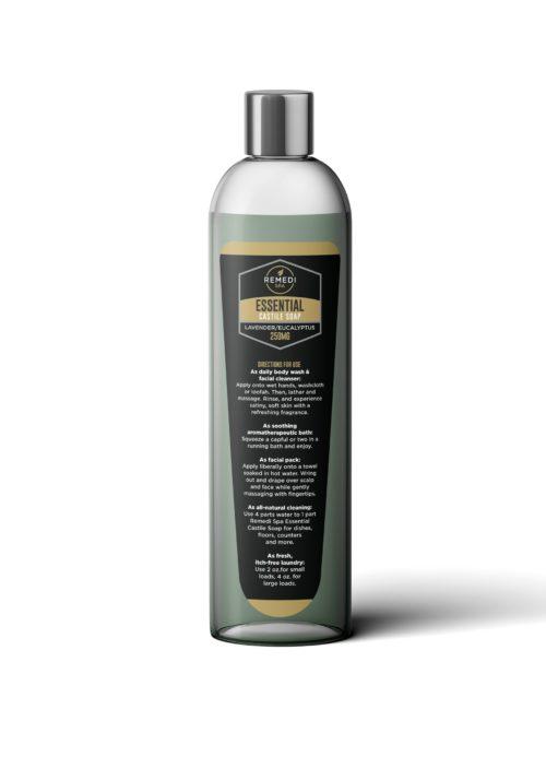 Remedi 250mg Castile Soap, Eucalyptus/Lavender