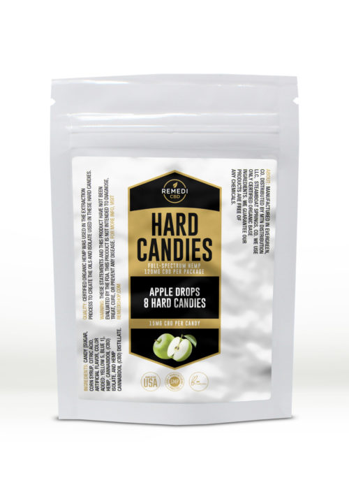 Hard Candy 15mg – Apple – Full Spectrum