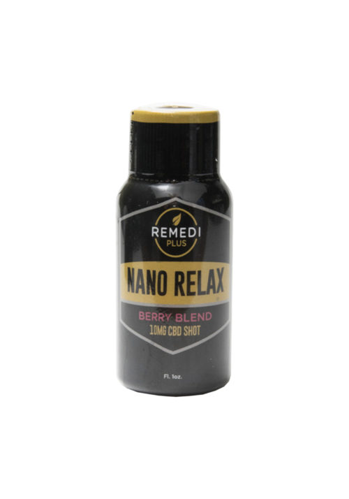Remedi 10mg Nano CBD, Berry Blend, Relax Shot