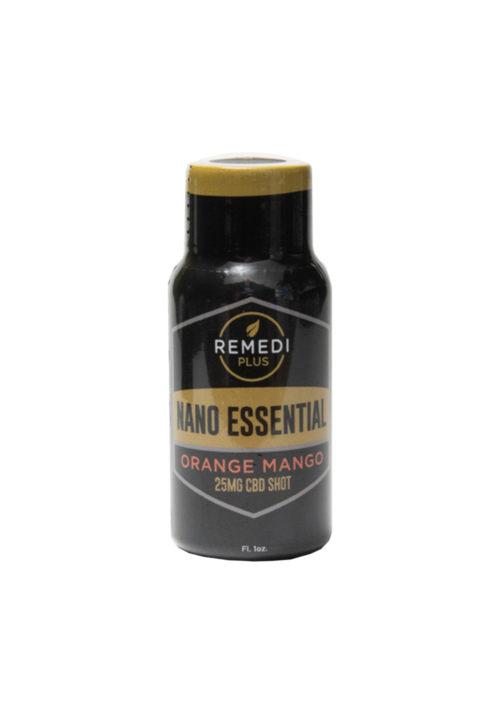 Remedi 25mg Nano CBD, Orange Mango, Essential Shot