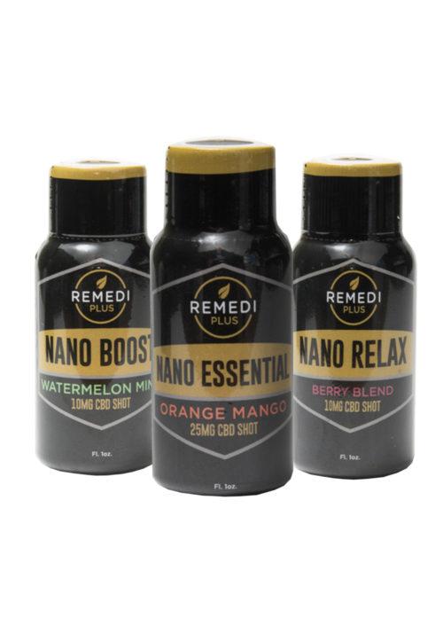 Remedi 3 Shot Variety Pack