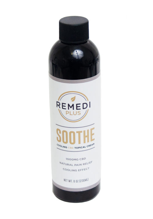 Remedi Plus Soothe Cooling CBD Topical Cream – 1000mg