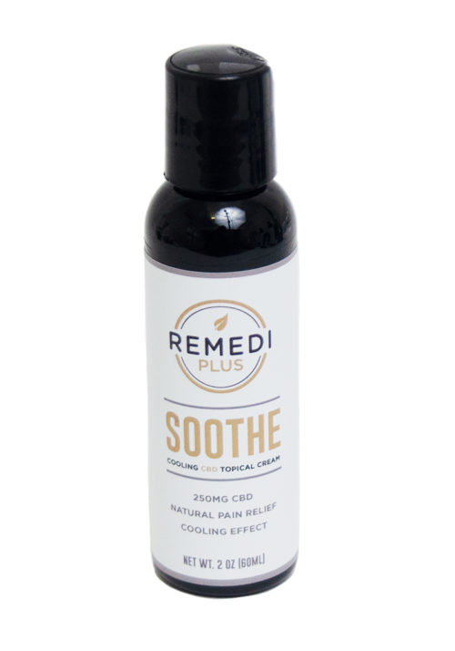 Remedi Plus Soothe Cooling CBD Topical Cream – 250mg
