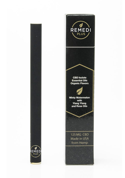 Remedi Black, Minty Watermelon/Ylang-Ylang 125mg Diffuser Pen