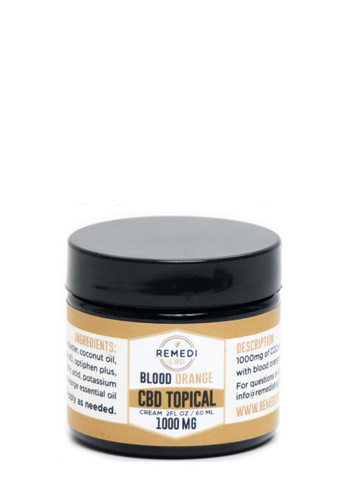 Remedi CBD Blood Orange Topical Lotion – 1000mg / 2oz. / 60ml