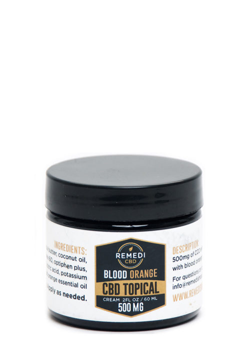 Remedi CBD Blood Orange Topical Lotion – 500mg