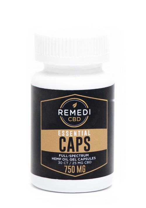 Remedi 750mg Full-Spectrum Capsules 30ct