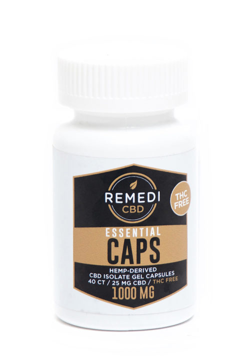 Remedi 1000mg Isolate Capsules 40ct