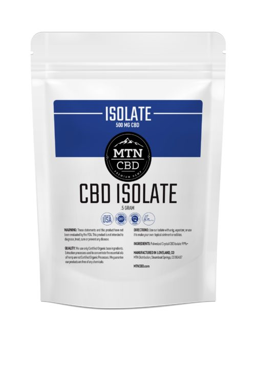 CBD 99% Isolate (500MG)